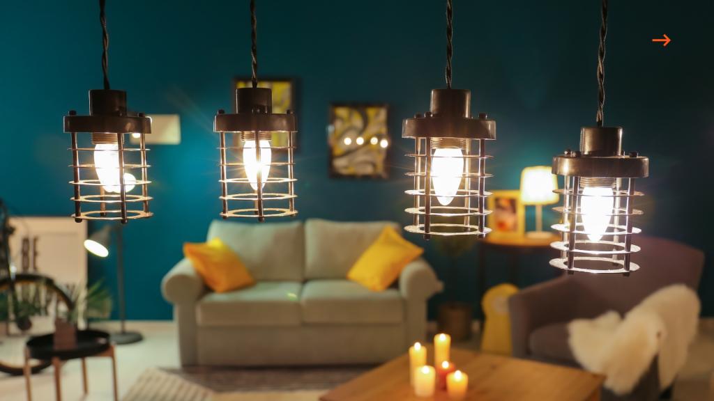 faça uma decoração com lâmpadas na sua casa