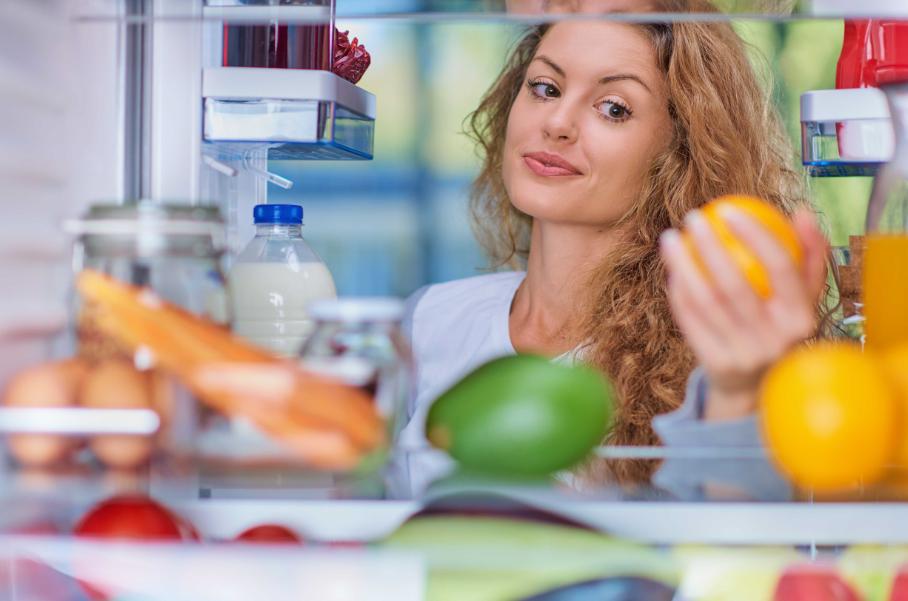 Como guardar frutas e verduras após a limpeza?