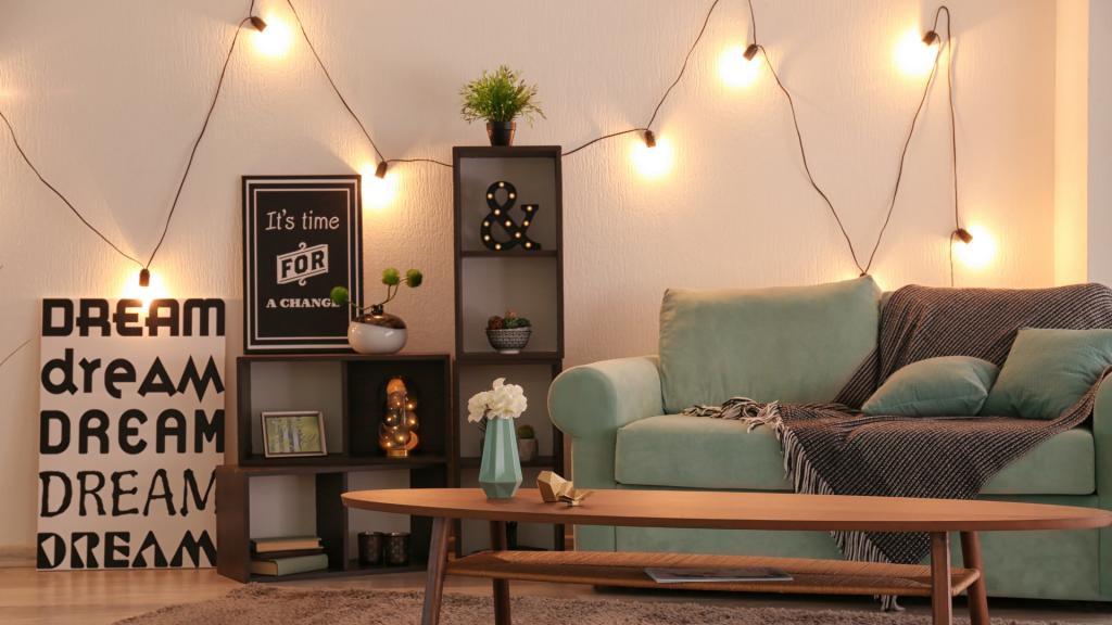 Decoração com lâmpadas para a sua casa