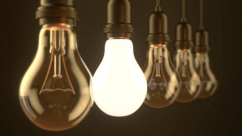 como refrescar o ambiente com lâmpadas