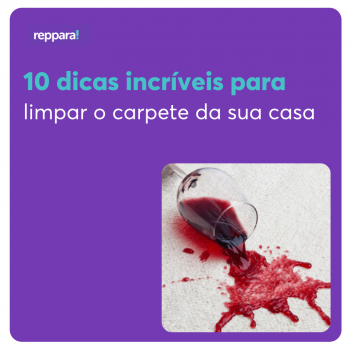dicas incríveis de como limpar carpete
