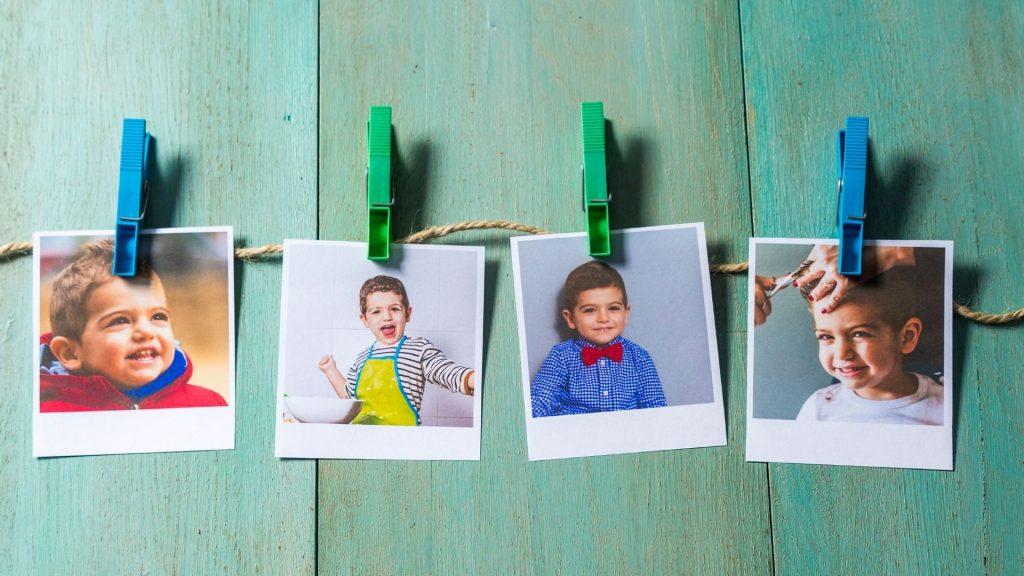 Faça um varal de fotos e aposte nas fotografias na decoração