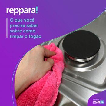 O que você precisa saber na hora de limpar o fogão