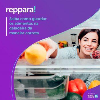 Saiba como guardar os alimentos na geladeira da maneira correta