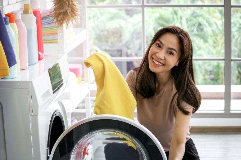 Cuidados que fazem a máquina de lavar durar mais tempo