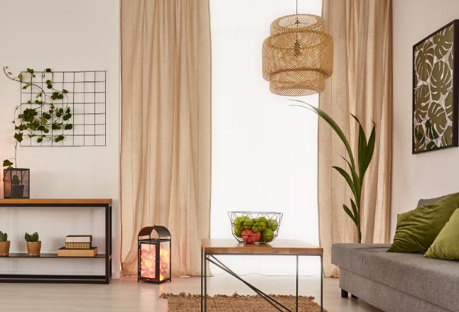 Cores claras são as mais indicadas para apartamentos pequenos