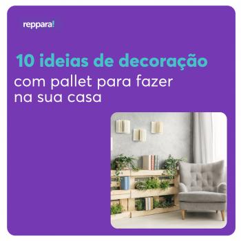 decoração com pallet para fazer na sua casa