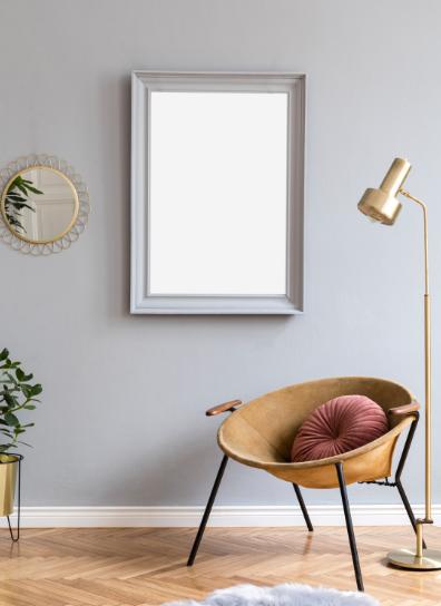 Os espelhos são uma das alternativas mais utilizadas em apartamentos pequenos