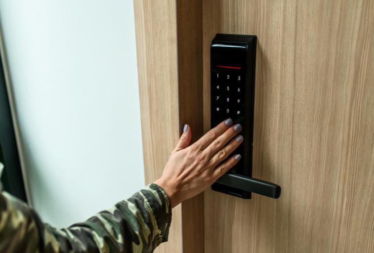 instale uma fechadura digital para não perder a chave de casa