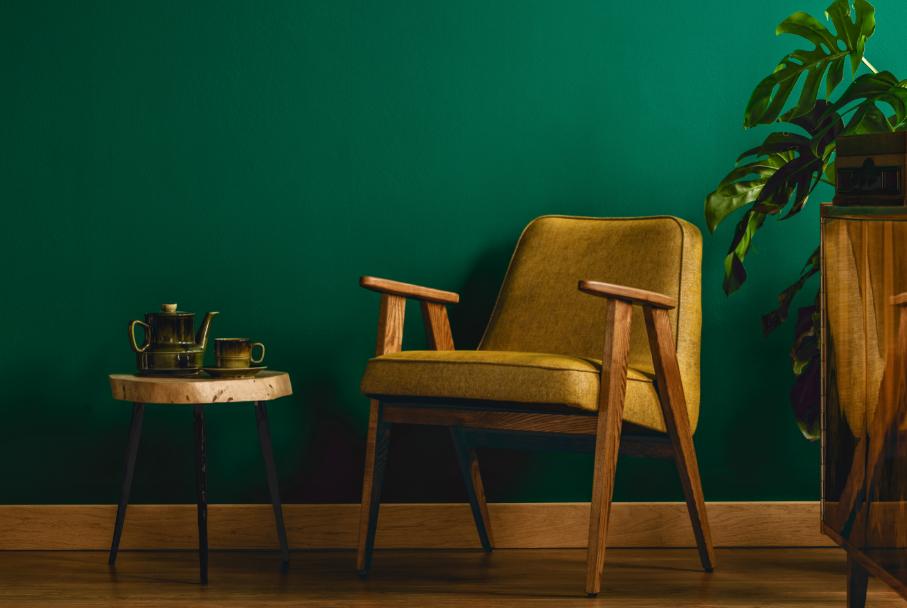 Como combinar a paleta de cores com a decoração da casa?