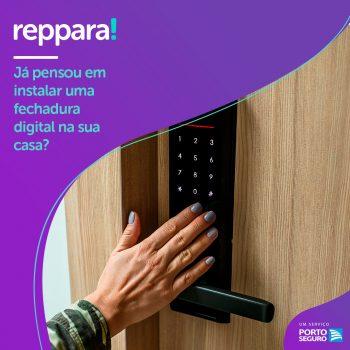 Já pensou em instalar uma fechadura digital na sua casa?