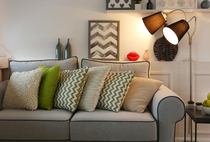 Como escolher tipos de sofá para sala